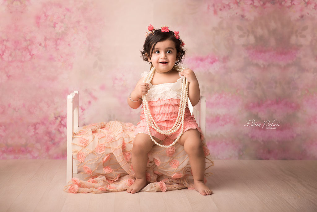 baby girl 1 year old portfolio in Pune