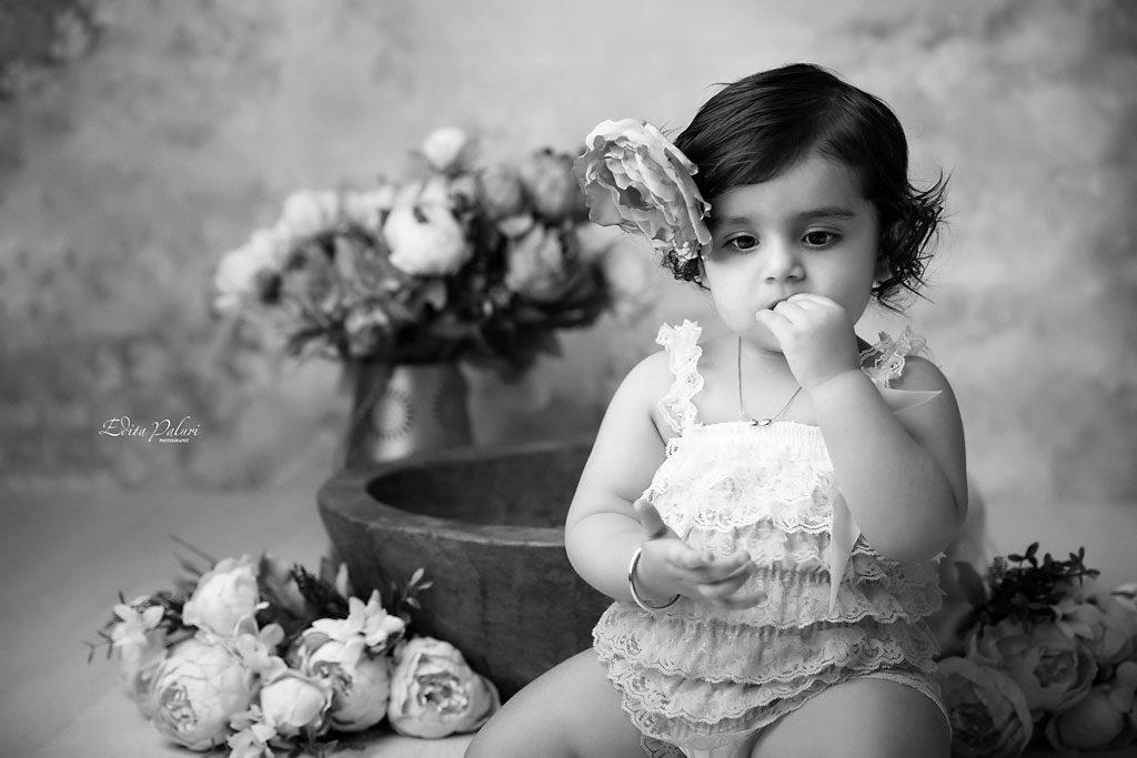 baby girl photo shoot in Pune