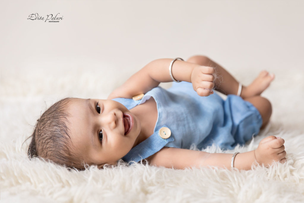 4.5 month indian baby boy