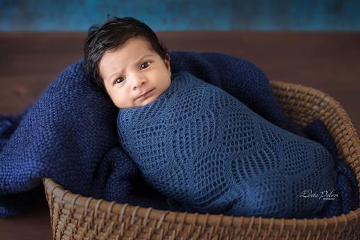 newborn baby photo shoot in Pune