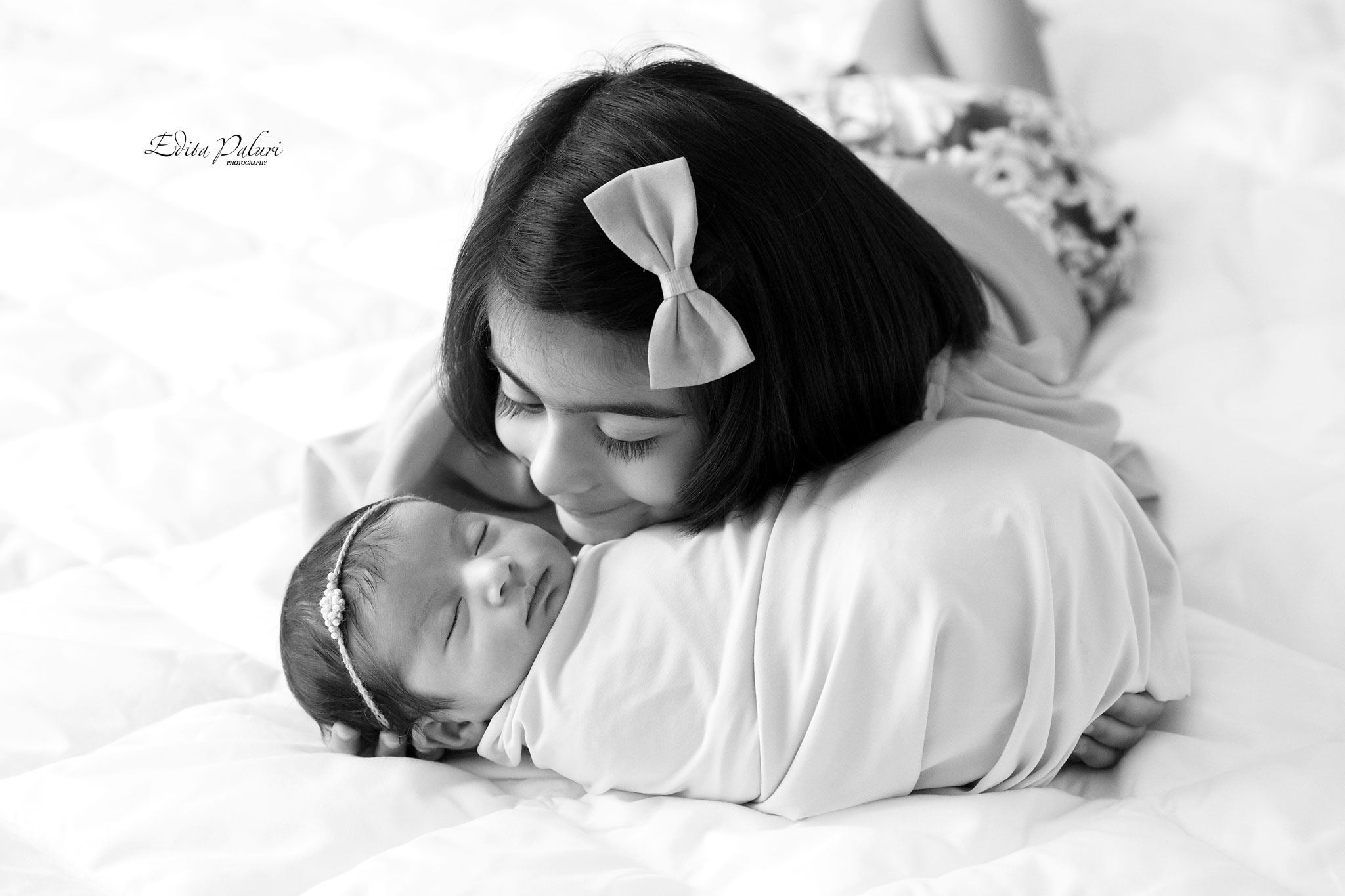 11 days newborn baby girl photo shoot