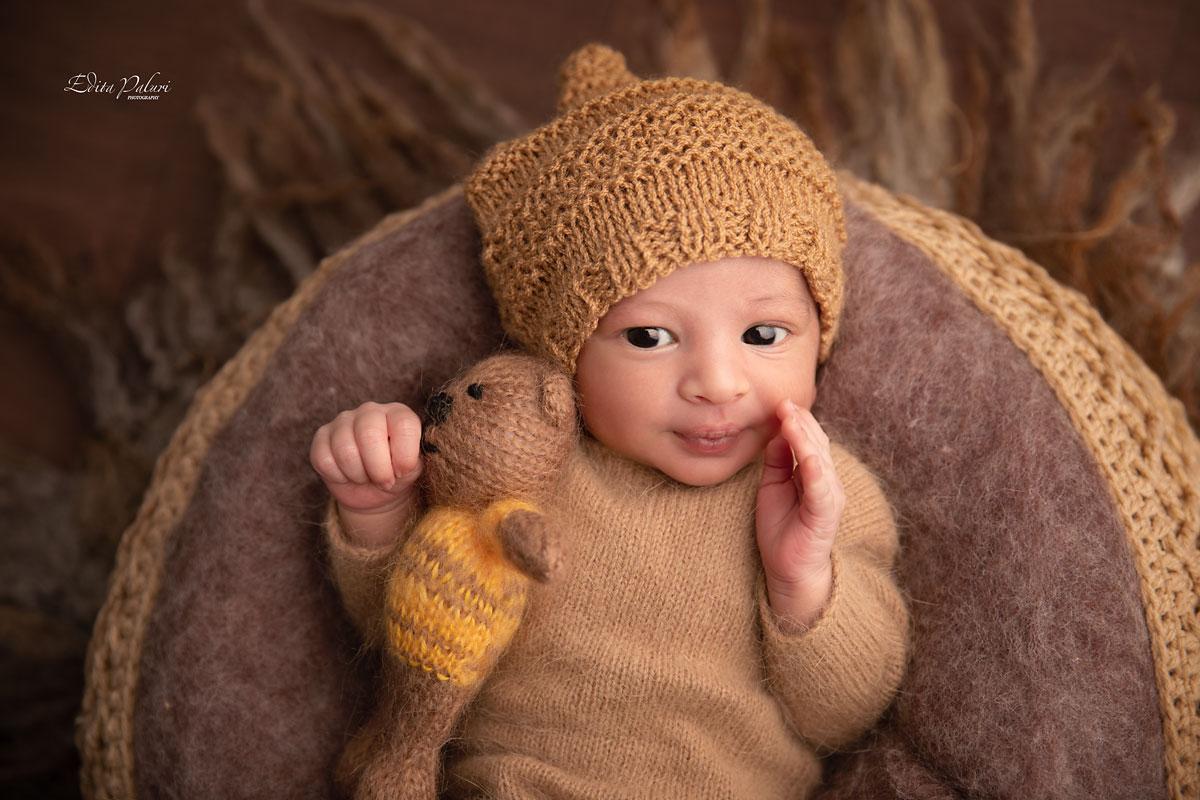 Newborn baby boy 12 days