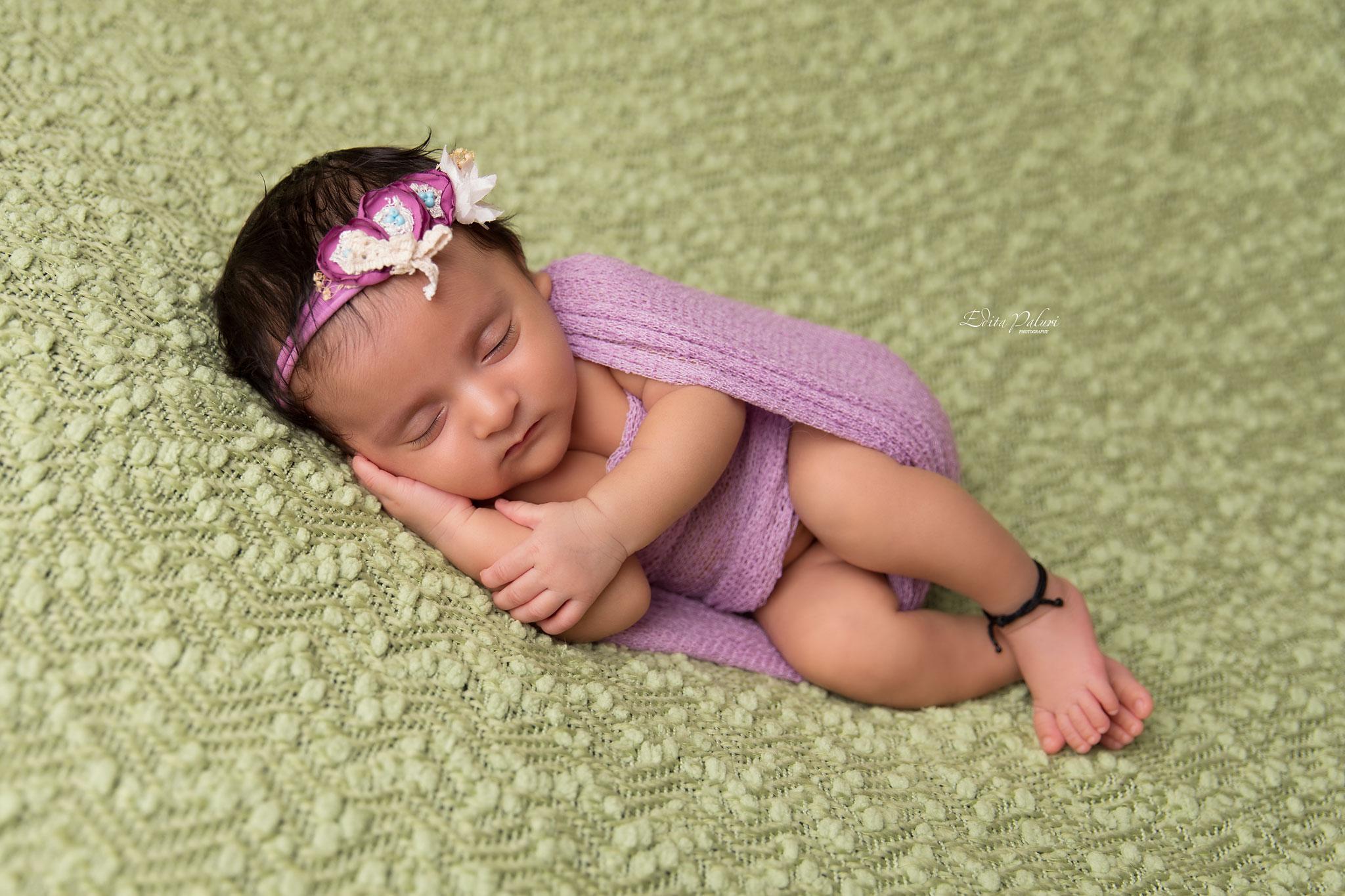 Newborn photo shoot India