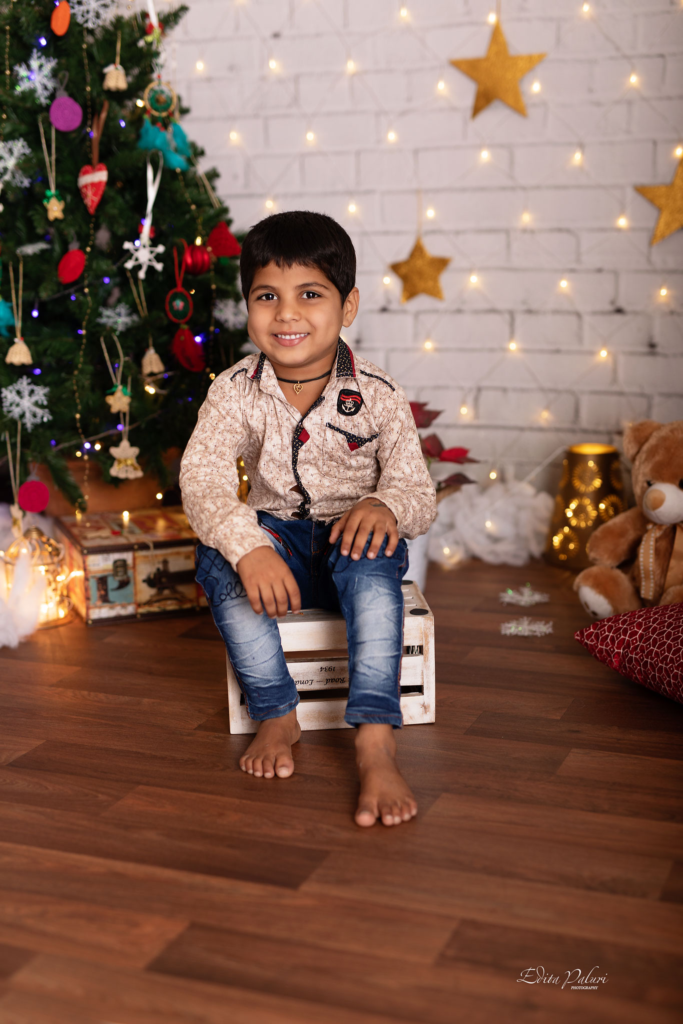 Baby photo shoot Christmas Pune