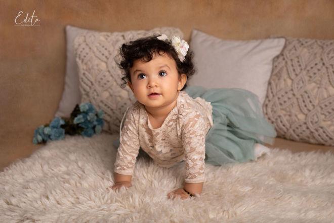 1 year baby girl photoshoot in pune