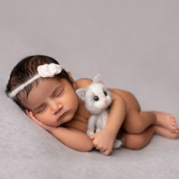 Newborn photo session in Pune