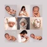 Request an appointment Neutral grey tones newborn baby photoshoot in Pune
