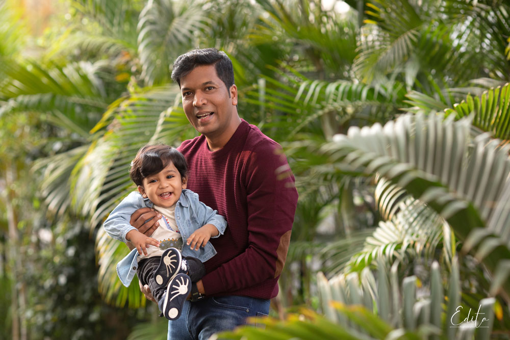 Dad and son photo shoot in Pune