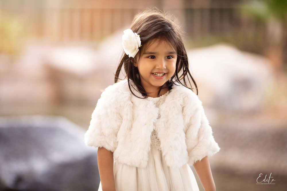 4 year old indian girl photo shoot